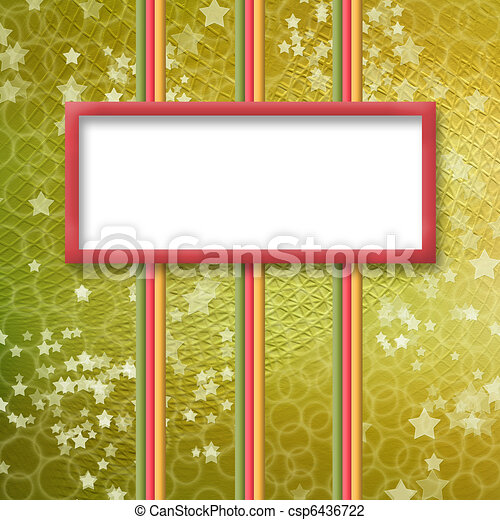 multicoloured holiday frames for greetings or invitations - csp6436722