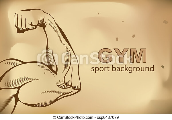 Arm Muscles - csp6437079
