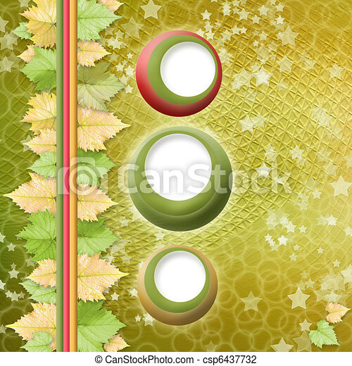 multicoloured holiday frames for greetings or invitations - csp6437732