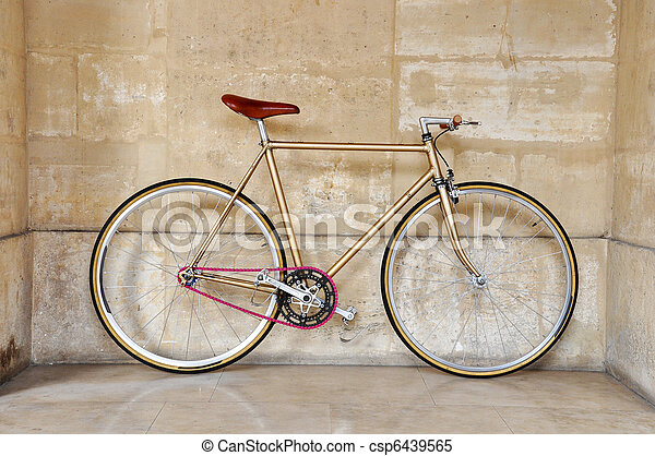 Fixed gear bicycle - csp6439565