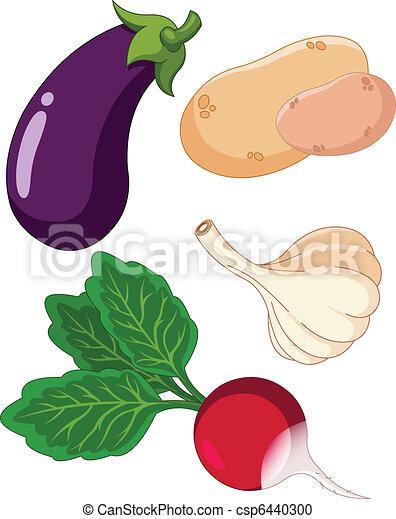 Set of vegetables3 - csp6440300