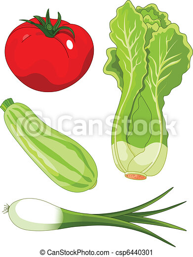 Set of vegetables5 - csp6440301