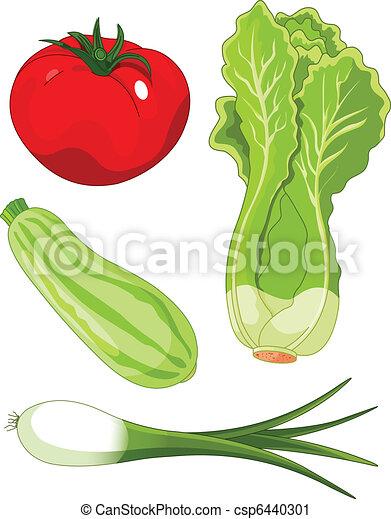 Set of vegetables5 - csp6440301
