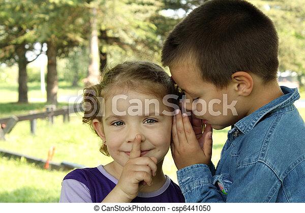 children little secret - csp6441050