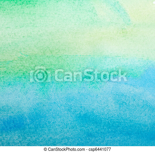 color strokes watercolor painting art - csp6441077