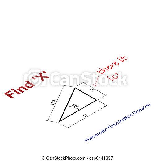 value of X - csp6441337