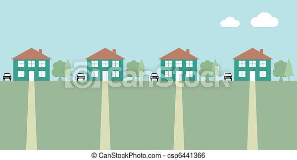 Houses - csp6441366
