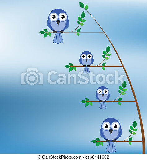 Family of birds - csp6441602