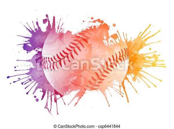 Baseball ball - csp6441844