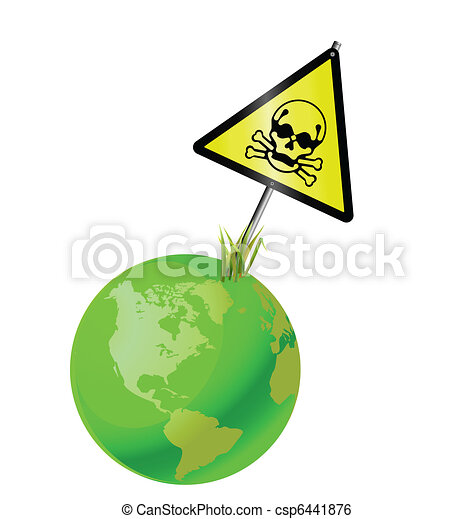 Green earth toxic - csp6441876
