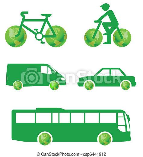 Green transport  - csp6441912