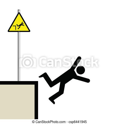 man falling - csp6441945