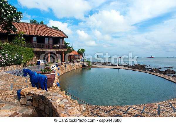 Cozy resort with swimming pool by the sea - csp6443688