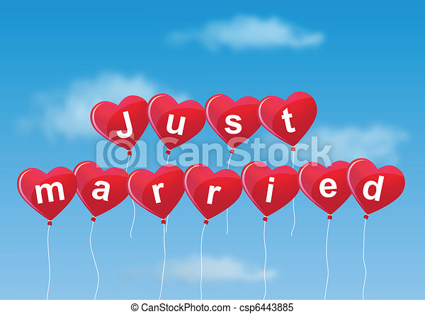 Just married - csp6443885