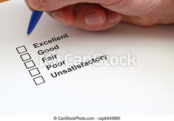 Survey questionnaire - csp6443960