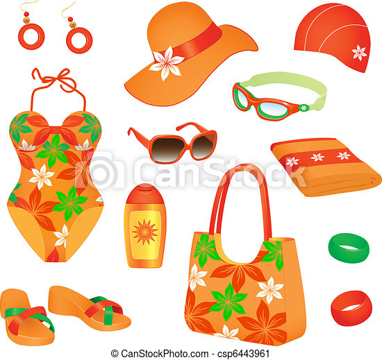 Beach accessories for woman - csp6443961