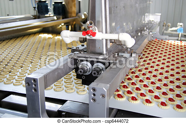 production cookie in factory - csp6444072