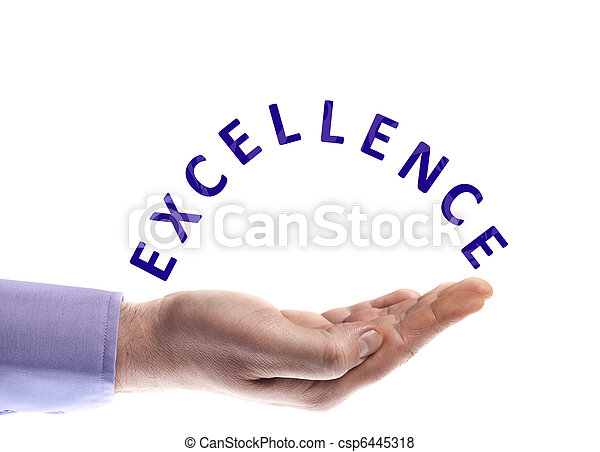 Excellence word - csp6445318