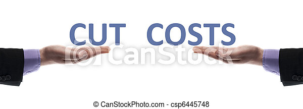 Cut costs message - csp6445748