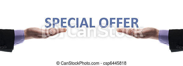 Special offer message - csp6445818