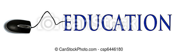 Education word - csp6446180