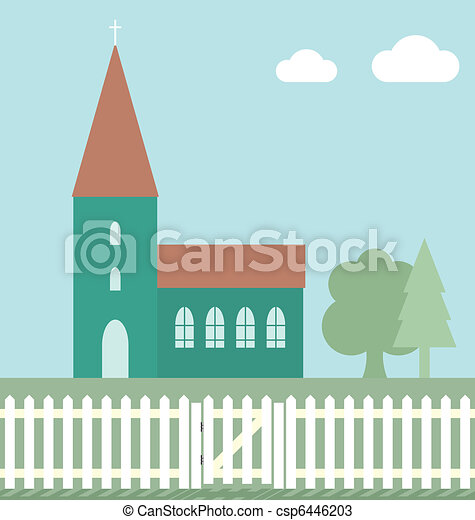 Church - csp6446203