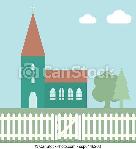 Church  - csp6446203