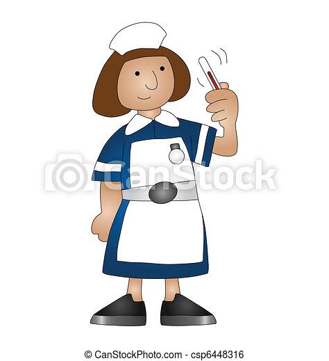 medical nurse  - csp6448316