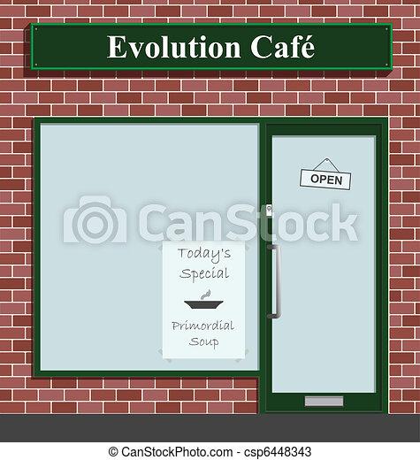 Evolution Cafe  - csp6448343