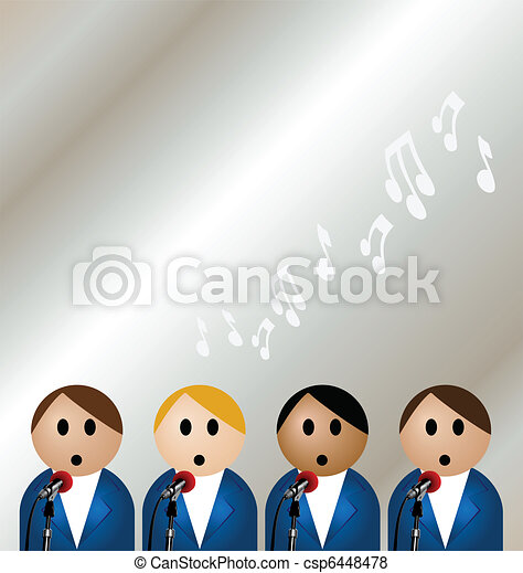 boy band - csp6448478