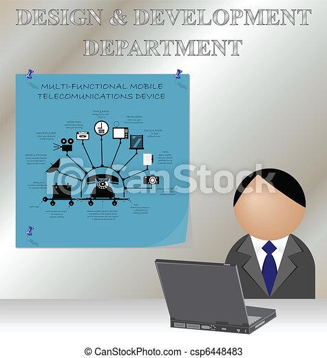 design and development department - csp6448483