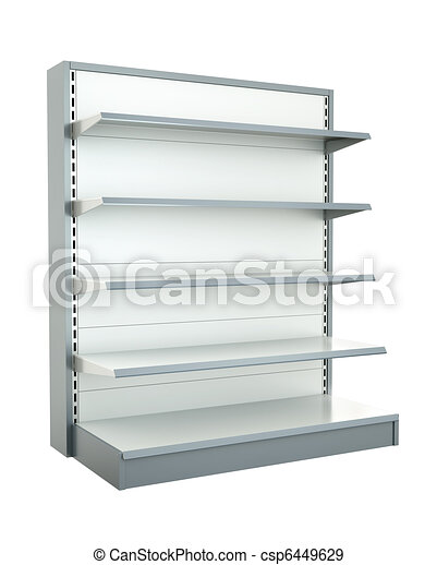 Shop shelf - csp6449629