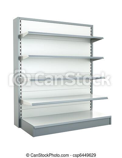 Shop shelf - csp6449629