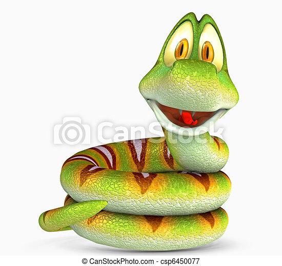 toon snake - csp6450077