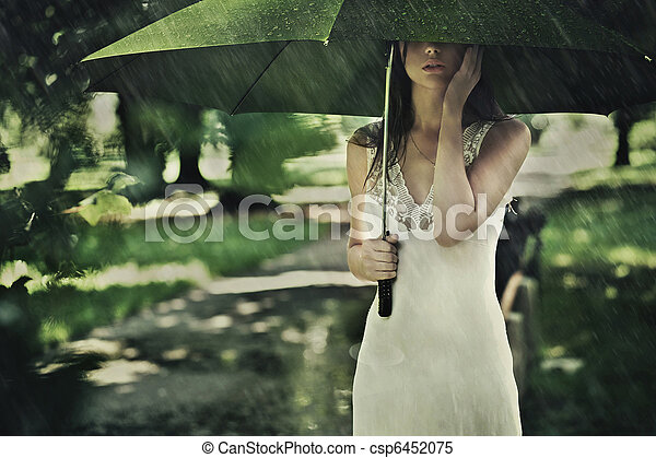 Summer rain - csp6452075