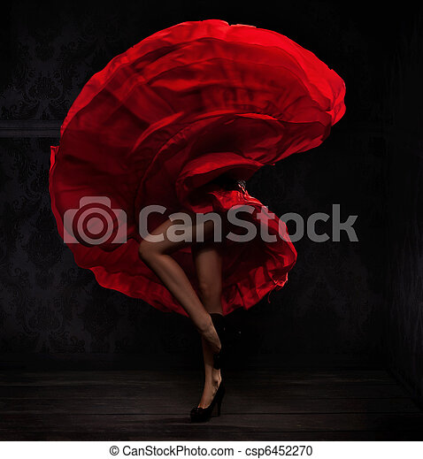 Flamenco dancer - csp6452270