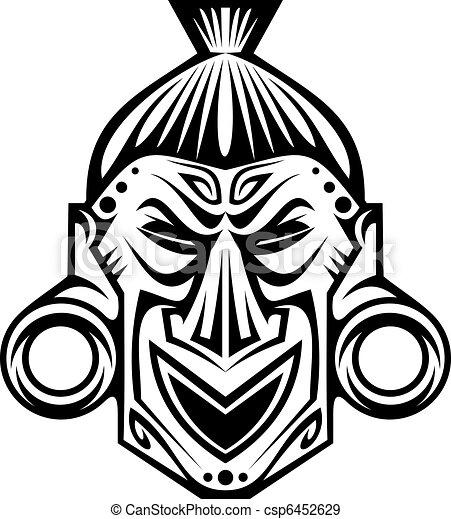 Religious mask - csp6452629