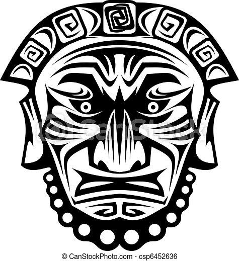 Religious mask - csp6452636