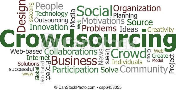 Crowdsourcing word cloud - csp6453055
