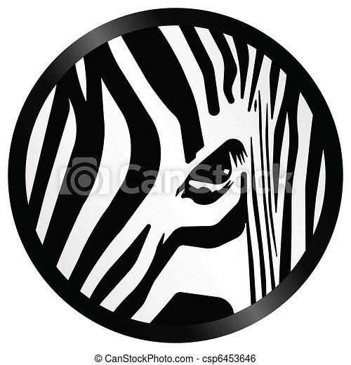 Abstract zebra - csp6453646