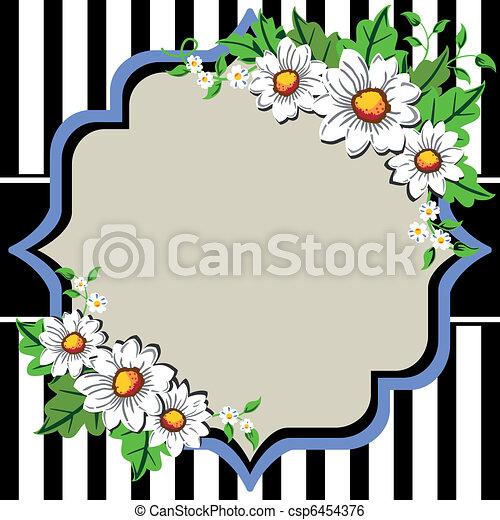 Pâquerette Fleur Cadre