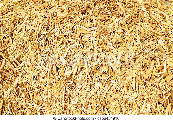 Wood chips for a biomass combustion - csp6454910