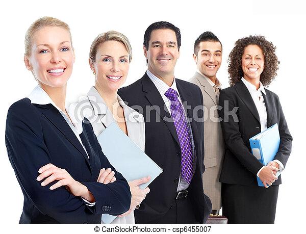 gens,  Business, équipe - csp6455007