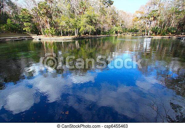Wekiwa Springs in Florida - csp6455463