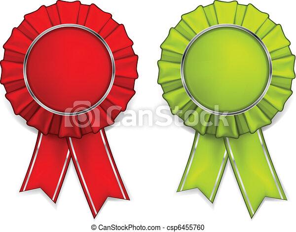Award rosettes  - csp6455760