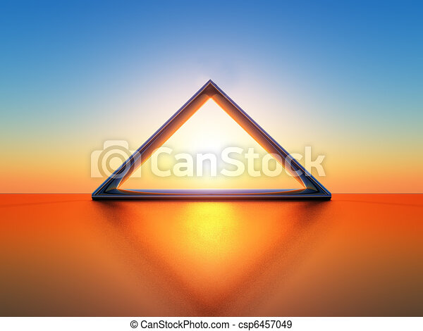 solar triangle - csp6457049