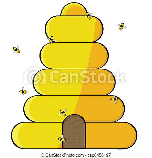 Beehive - csp6458197