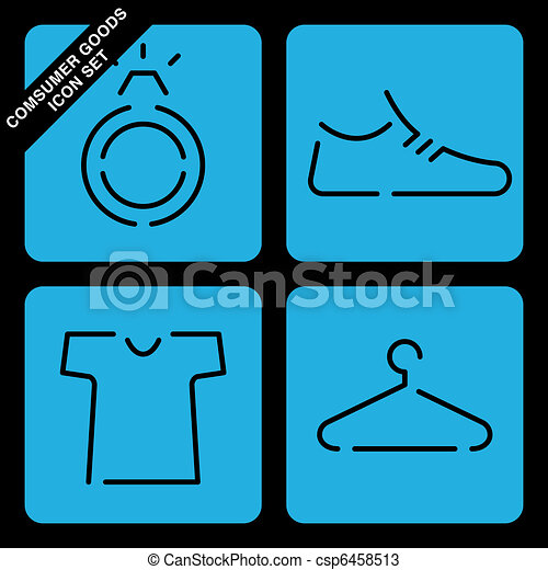 consumer goods icon set - csp6458513