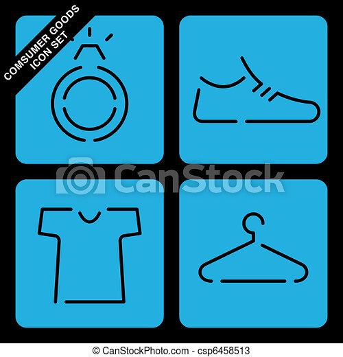 consumer goods icon set - csp6458513