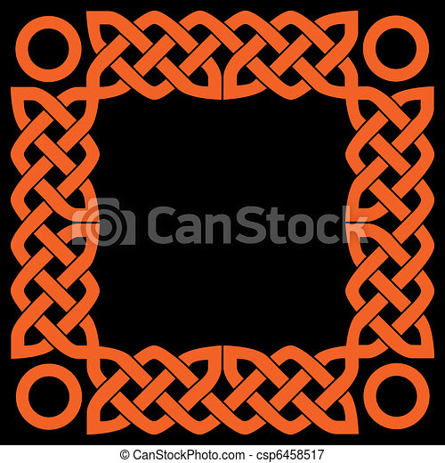 celtic frame - csp6458517